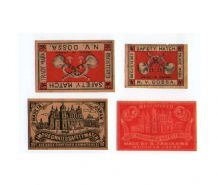 Collectible OLD match box labels CHINA or JAPAN patriotic  #117